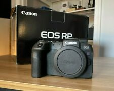 Canon EOS RP Full Frame 26.2 MP Mirrorless Camera - Black (Body Only)