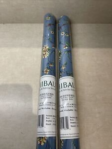 thibaut wallpaper rolls Two Double Rolls 27inch X 27 Ft Floral 839-T-4442