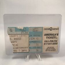 Queensryche County Civic Center Concert Ticket Stub Vintage 1991
