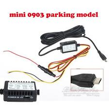 12v to 5v hard wire adapter cable Micro USB for Mini 0903 Parking Power switch