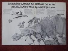 LUXEMBOURG NATO E-3 Sentry AWACS Roundel Aéronef 75mm Vinyle Autocollant x2