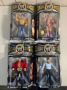 WWE Figure Lot of 4 Classic Superstars by JAKKS Pacific NEW Sealed WWF Wrestling