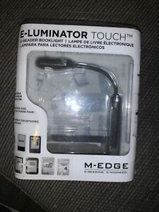 M-EDGE e-Luminator Touch LED Booklight Reading Light for Books/eReaders/Kindle