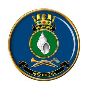 HMAS Wollongong Royal Australian Navy Pin Badge