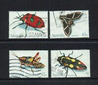 AUSTRALIA DECIMAL..1991 AUSTRALIAN INSECTS...SET OF 4