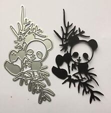 Cards Scrapbooking Panda Bear Craft Die Uk Seller