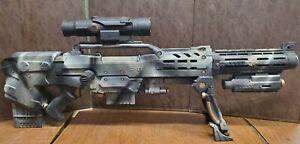 Custom Painted Longshot N-Strike CS-6 NERF Gun