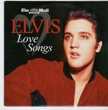 (FI484) Elvis, Love Songs - The Mail CD
