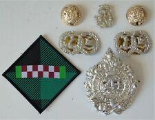 British Army Argyll & Sutherland Highlanders Cap/Collar Sporran Badges & Buttons