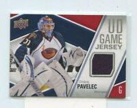 ONDREJ PAVELEC 2011-12 Upper Deck UD Game Jersey Game-Worn Jersey #GJ-OP