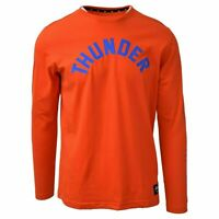 New Era Men's Oklahoma City Thunder NBA Embroidered L/S T-Shirt