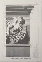 LIMITED EDITION ARCHITECTURAL DETAILS, TEMPLE OF THE WINDS PLATE V  JAMES BASIRE