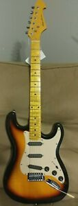 Spectrum Strat Style Electric Guitar. LN. Still has tags. Set up / intonated.