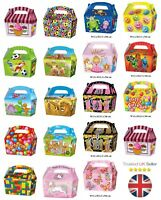 10 x Treat Boxes Cupcake Gift Party Loot Bag Wedding Children Birthday Kids ML