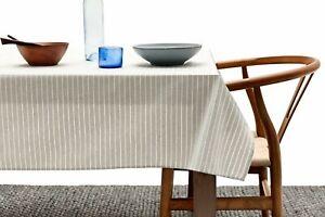 Tablecloth / Grey Striped