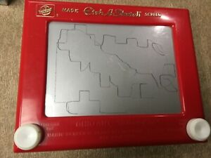Vintage Ohio Art ETCH A SKETCH Magic Screen Model #505 Working condtion