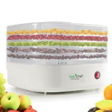 NutriChef Electric Countertop Food Dehydrator, Food Preserver (PKFD06)