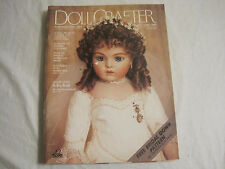 Doll Crafter Magazine May/June 1988~w/pattern~Wedding Gown~LBDLP