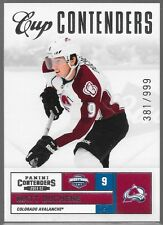 11/12 Contenders Cup Matt Duchene /999 109 Avalanche