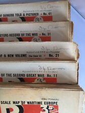 THE WAR ILLUSTRATED WWII MAGAZINE - Nos.1-50 Vol 1/2  ED. SIR JOHN HAMMERTON