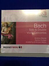 NUEVO SELLADO Bach Solo & Doble Violín Concertos 2016 CD Audio