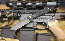 Spartan Blades Knife Pallas Folder Blackout S35VN Button Lock Tanto
