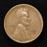 1920-S 1c LINCOLN WHEAT SMALL CENT, XF/AU *BETTER DATE COIN* LOT#Z046
