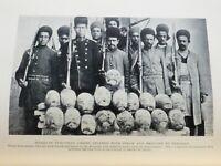 1912 / PERSIA / TEHRAN CORRUPTION / INTRIGUE / BRUTAL PHOTOS  OF EXECUTIONS