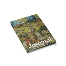 The Garden of Earthly Delights, Hardcover Journal, Ruled Line, Surreal, Bosch