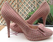 ALANNAH HILL 'Keep Screaming' Stunning Leather Heels - SIZE 8 - NEW (RRP$299)