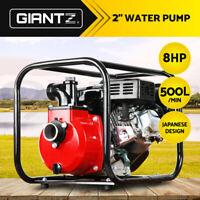 "Giantz 2 Inch 2"" Petrol High Flow Water Transfer Pump Fire Fighting Irrigation"