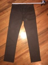 United Colors of Benetton ~ Men's Brown Button Fly Pants/Jeans ~ measures 34x35
