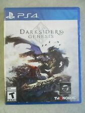 SEALED PS4 PLAYSTATION 4 DARKSIDERS GENESIS COMPLETE IN BOX VIDEO GAME