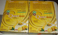 QUESTBAR LEMON CREAM PIE Flavor PROTEIN BAR 24 bars EXP: 08/03/18 quest bar