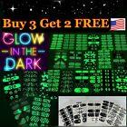 Nail Polish Stickers Strips Glow in the Dark B3G2 Free
