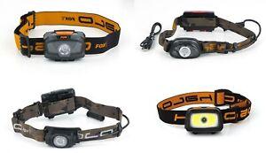 Fox Halo Headtorch 200 300 350 Lumens Flashlight Night Fishing Light