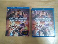 DC Universe Justice League vs Teen Titans (Blu-ray) w/ slipcover NO DVD