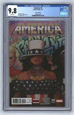 America #2 HTF 2nd Print Beyonce Homage America Chavez Doctor Strange 2 CGC 9.8