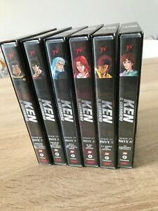 KEN IL GUERRIERO DVD BOX 1,2,3,4,5,6 SERIE COMPLETA