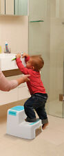 NEW DREAMBABY 2 UP STEP STOOL BATHROOM NEED TODDLER KIDS TOILET TRAINING