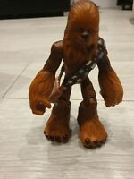 CHEWBACCA WITH BAG SATCHEL character action figure toy STAR WARS Hasbro 2004