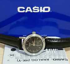 CASIO ANALOG LEATHER DRESS LADIES WATCH LTP-1095E-1A GIFT EASY TO READ LTP1095
