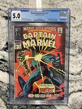Marvel Super-Heroes #13 CGC 5.0 (1st App of Carol Danvers - Ms Marvel)