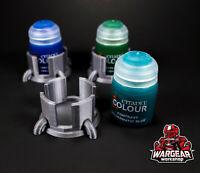 WarGear Workshop 3D Printed Citadel Contrast Paint Pot Holders (3-PACK)