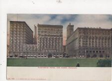 Auditorium Hotel & Annex Chicago Vintage Postcard Usa 512a