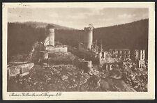 Ruine Kollmitz a. d. Thaya / NÖ  1927   gelaufen 1929  m. Frankatur