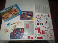 FischerTechnik  Set 1970's Basic 50 set pieces and parts
