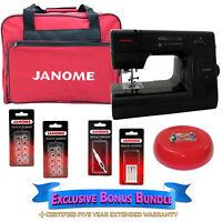 Janome HD3000-BE Black Edition Sewing Machine -- w/ Exclusive Bonus Bundle