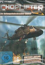 PC DVD-ROM + Choplifter + Rettungshubschrauber + Rettungspilot + Hubschrauber