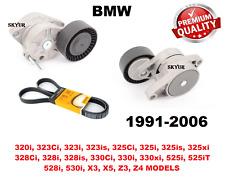 91-06 BMW 323 325 328 330 525 528 530 X3 X5 Engine Belt & Tensioner Assembly KIT